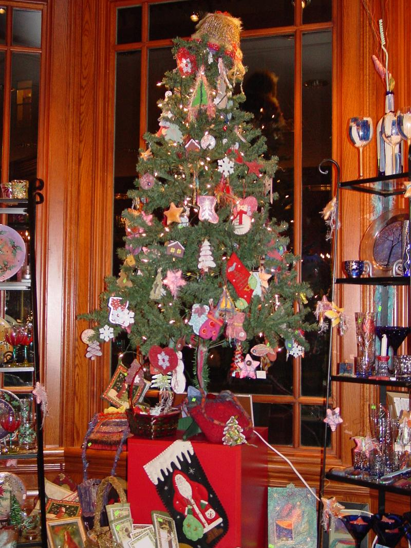 Christmas Tree at Olga Gallery