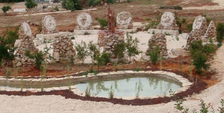 bible gardens samaria-gilgal