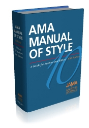 Picture of AMA Manual of Style Book