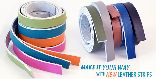 how to make leather strips