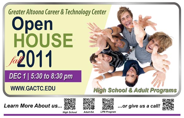 Open House Placemat Winter 2011