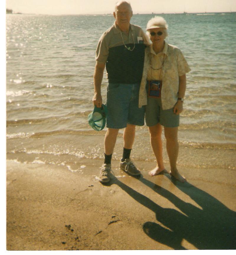 Volunteers: Andy & Jean Anderson