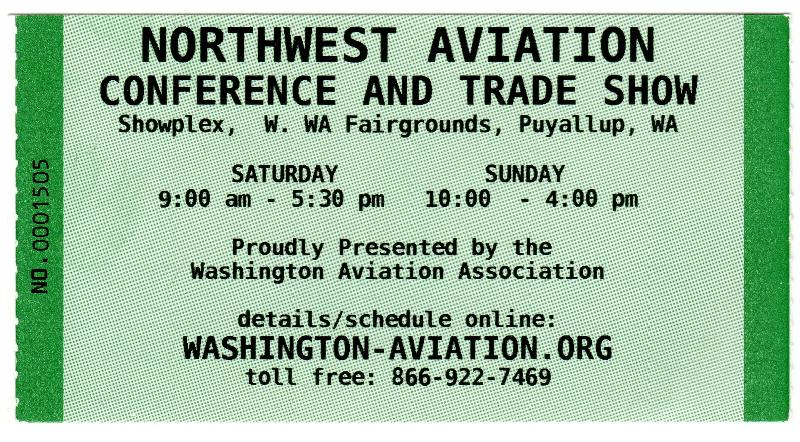 NW Aviation Show Ticket