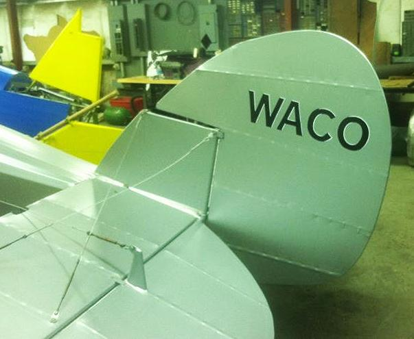 WACO 9 Hand painted by