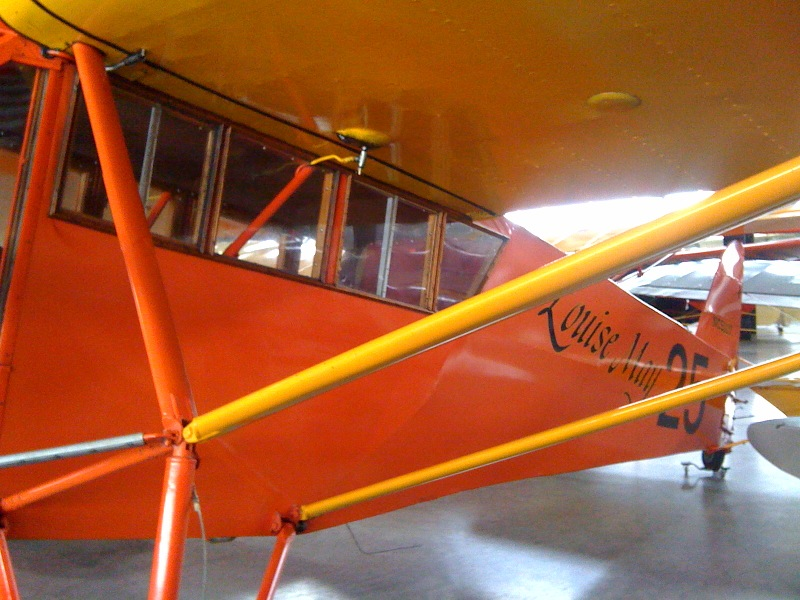 Louise May a Curtiss Robin
