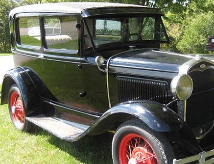 Model A Ford Tudor Deluxe