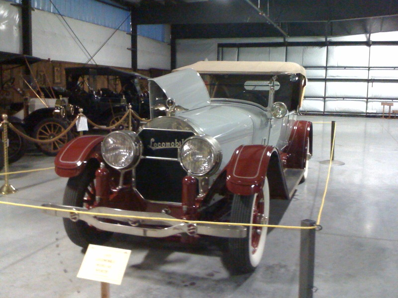 Donated Rare Locomobile