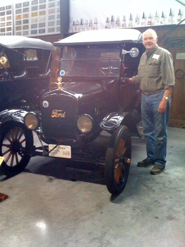 Andy Anderson and 1925 Model T Runabout