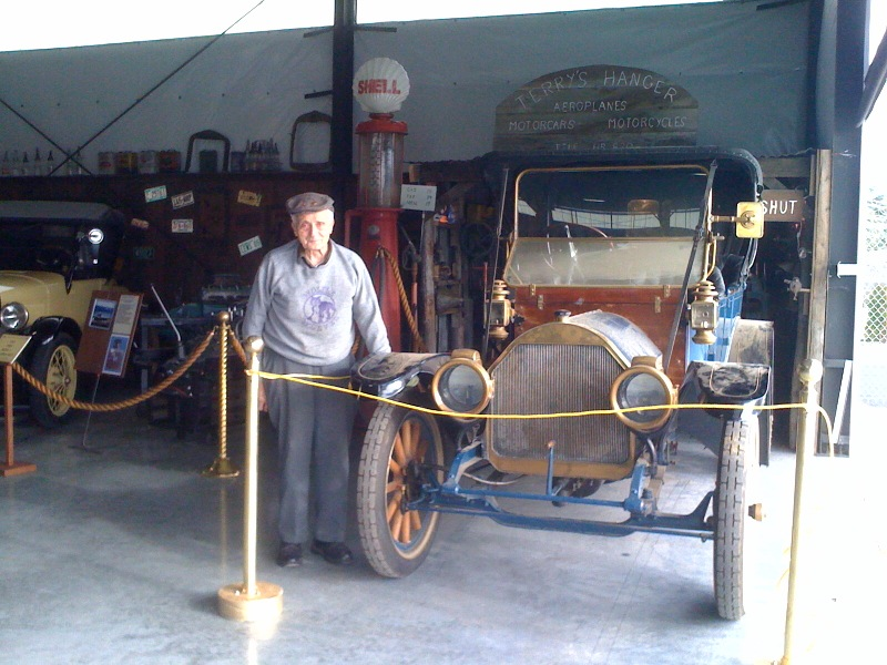 JJack Wolfe and 1911 Auburn Auto