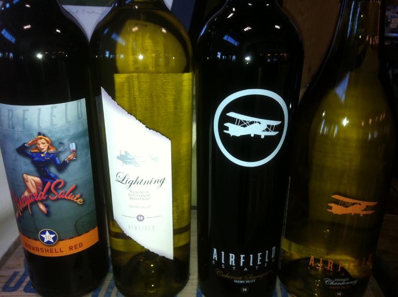 Airfield Estates Wine