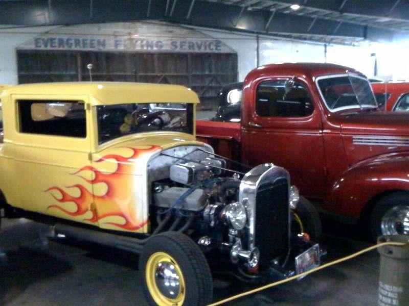 Ken Moes cars displayed at WAAAM