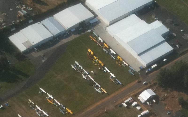 2011 WAAAM Fly-in Air View