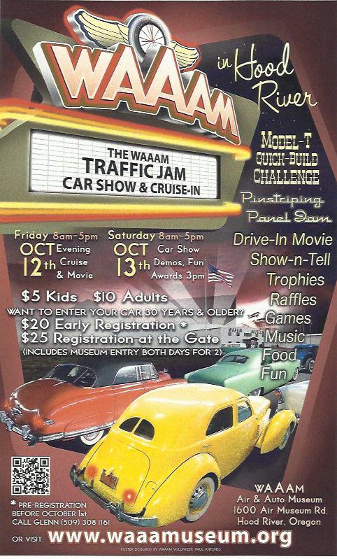 Traffic Jam Oct 12 & 13