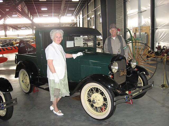 The Anderson's and their Model A Pick Up