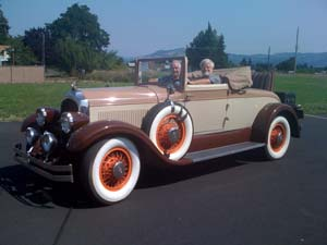 Don Briggs - 1927 E80 Chrysler Imperial Cabriolet