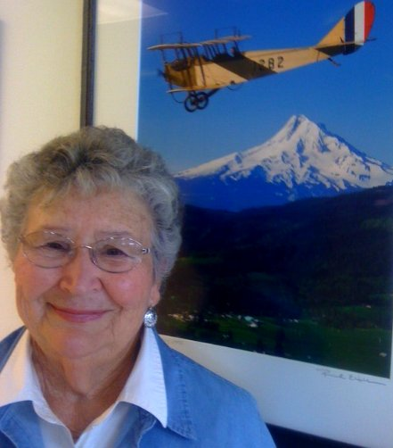 Volunteer Connie Peters