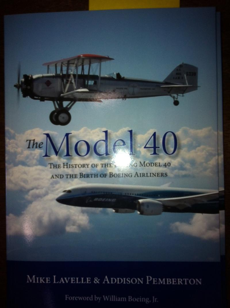 Boeing 40 book cover