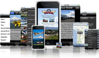 WAAAM iPhone App -Screen Shots