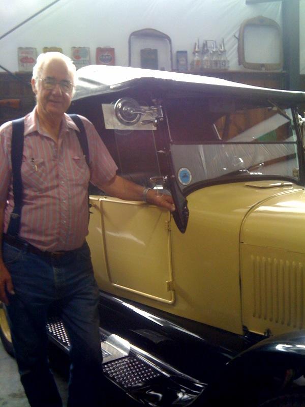Gene Wright & his 1927 Model T