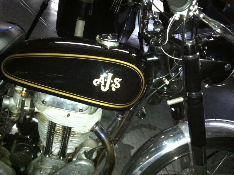 1954 AJS 18CS motorcycle