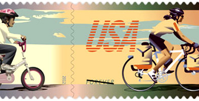 New Bicycle Stamps Issued