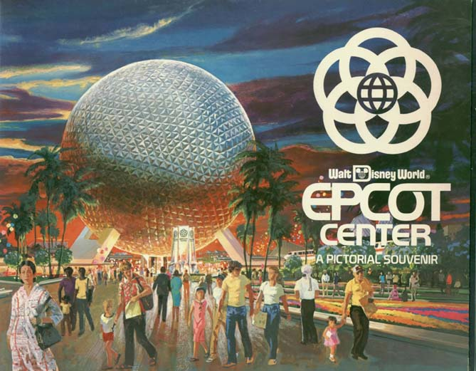 EPCOT Center graphic from 1982 opening