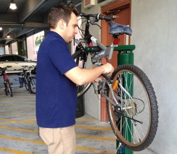 New USF Bicycle Repair Station