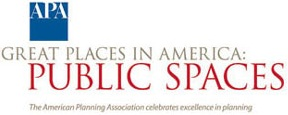 APA Great Places in America - Public Spaces logo