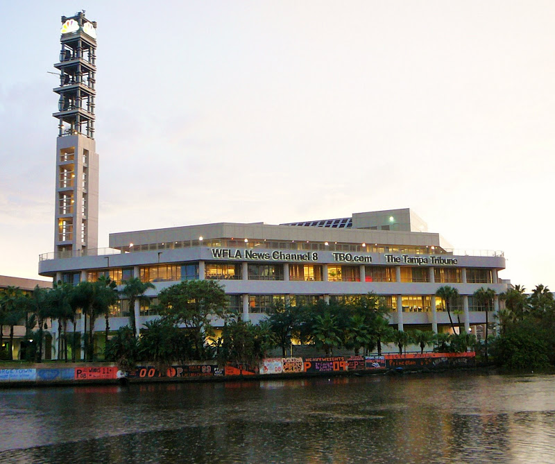 Tampa Tribune and Channel 8 Buildings