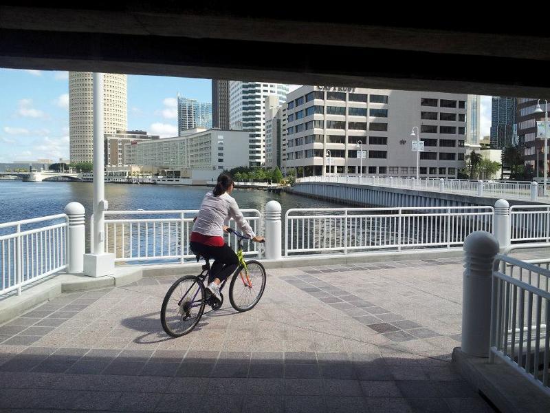 River walk Downtown Tampa