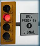 Bus Priority traffic Signal