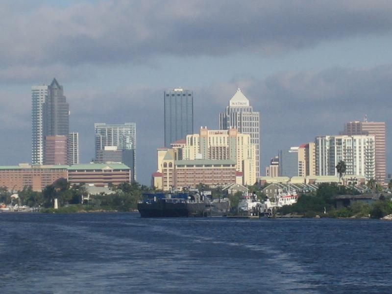 Downtown Tampa from the Bay