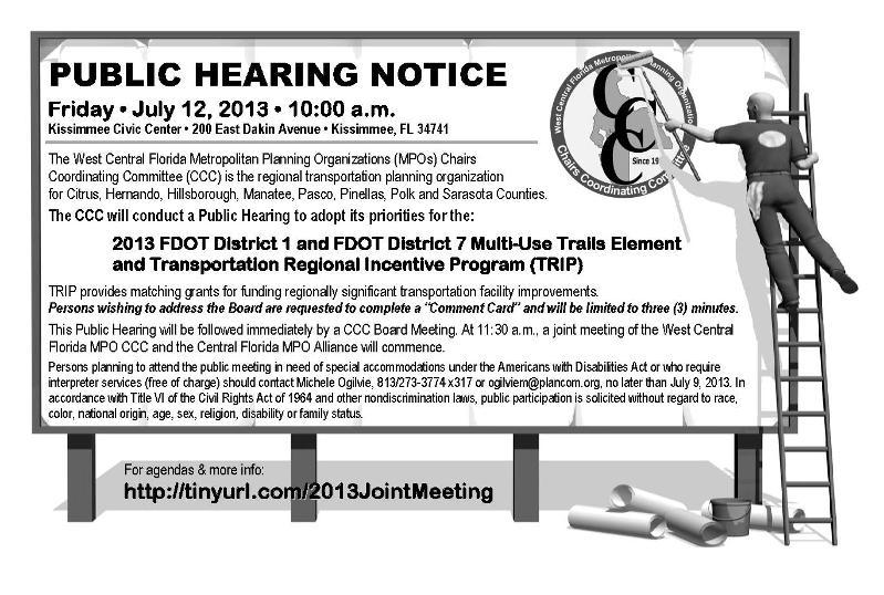 CCC Public Hearing Notice