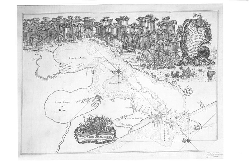 1757 Map