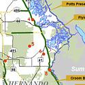 Regional Multi-Use Trails Map icon