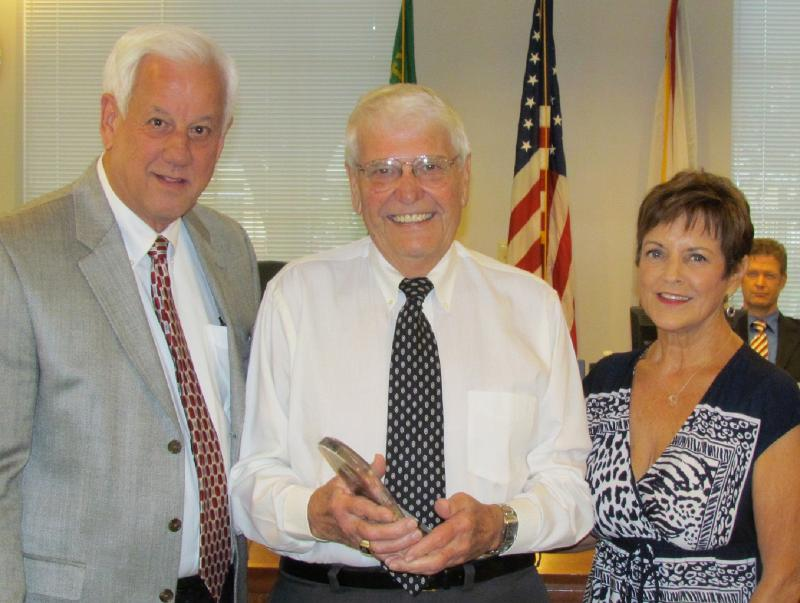 Gary Sears honored by Plant City City Commission