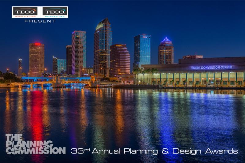 Tampa Electric & Peoples Gas present the Planning Commission 33rd Annual Planning & Design Awards