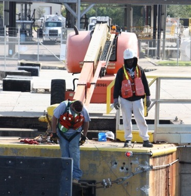 Port of Tampa workers