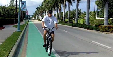 Naples Green Bike Lanes