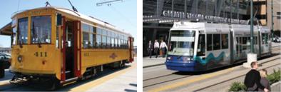 Replica Streetcar - Modern Streetcar