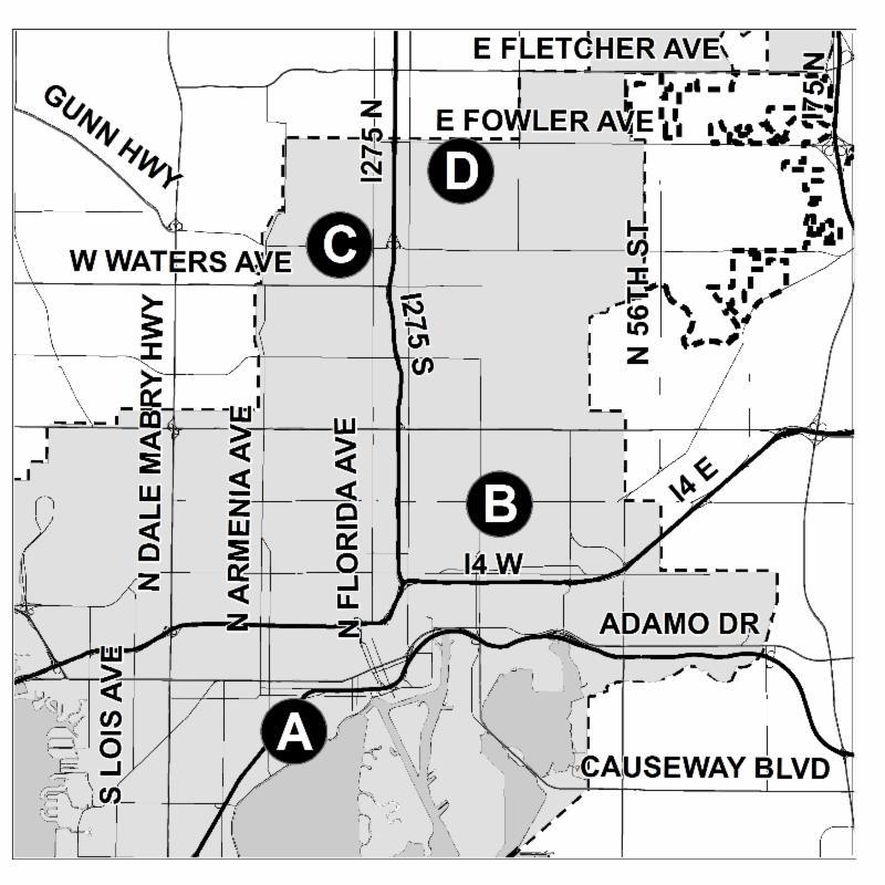 2013 Redistricting Workshop Locations