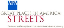 APA Great Places in America - Great Streets logo