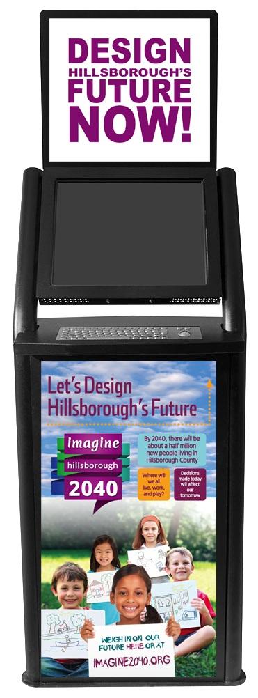 Imagine 2040 Kiosk