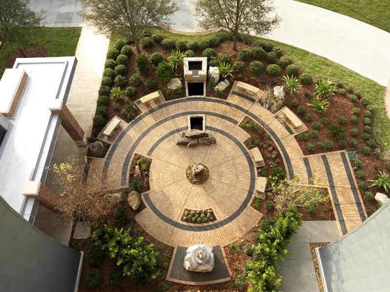 Sykes Chapel meditation garden