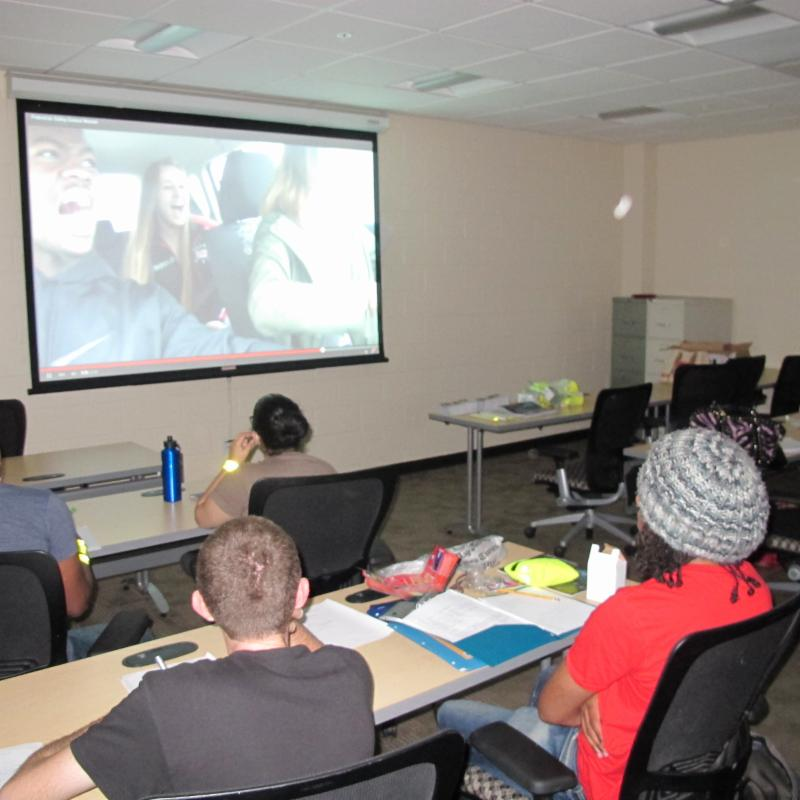 HCC Student Judges for safety videos