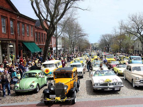 Main Street in Nantucket, Massachusetts