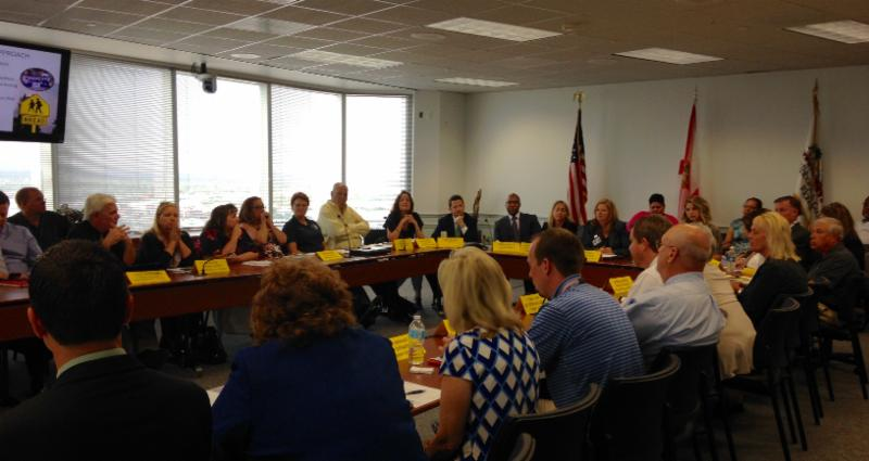 First Meeting of the School Transportation Working Group