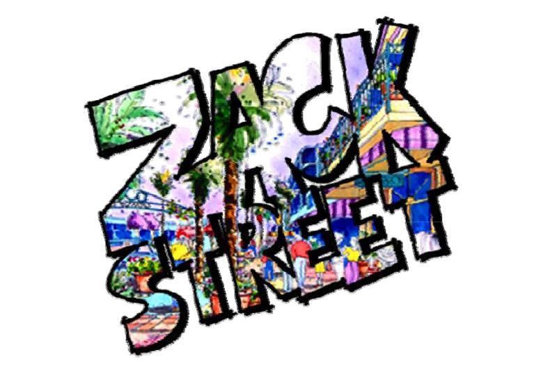 Zack Street Promenade of the Arts logo