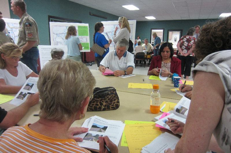 Keystone-Odessa Community Plan Open House - Visual Preference Survey