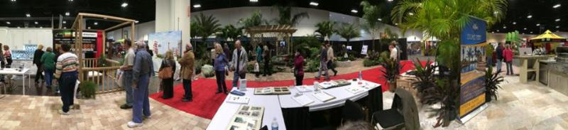 Interactive display at January 2014 Turner Home Show